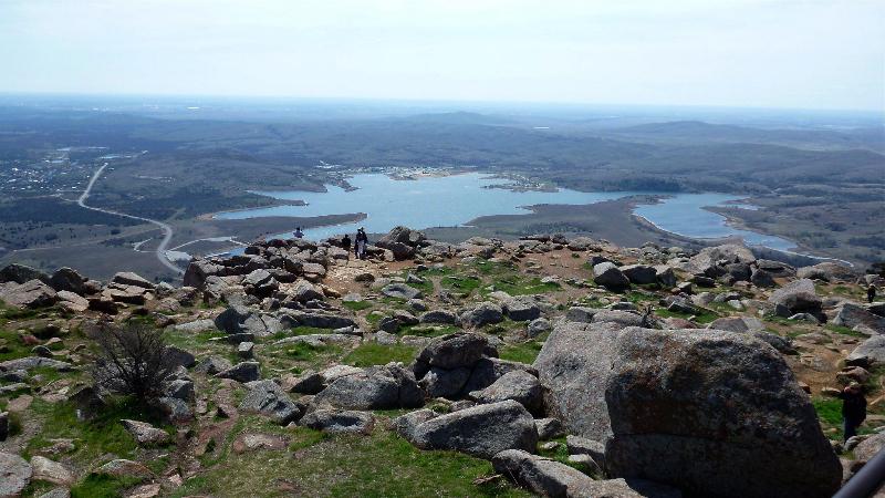 Vista from Mt Scott in the Wichita Mountains