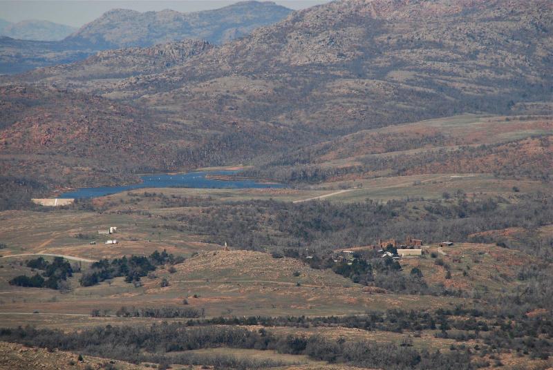 Vista of the Wichita Mountains