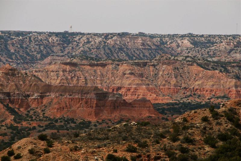 Vista of Palo Duro Canyon