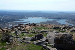 Vista from Mt Scott in the Wichita Mountains
