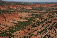 Vista of Caprock Canyon