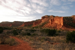 Sunset at Caprock Canyon