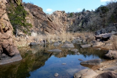 The Narrows Canyon at Wichita Mountains