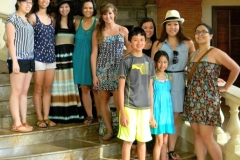 My cousins and I in Manila