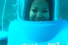 Me helmet diving
