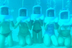 What we all looked like helmet diving