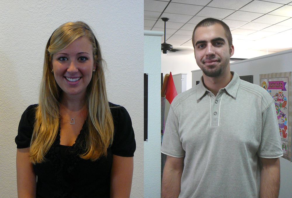 We Have Two New Fabulous Interns!