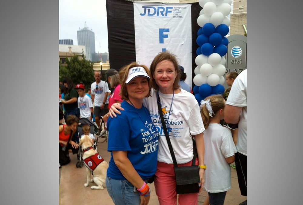 Off the Clock: Tanya joins JDRF's Walk to Cure Diabetes