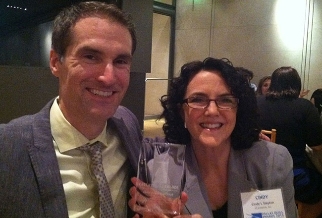 Ad Campaign Earns Award at IABC Dallas Quills